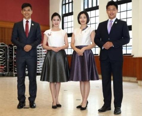台湾のビジネスシーンの服装‐総統就任式典の正装