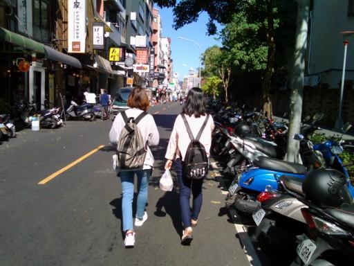 台湾の11月の服装‐女性のコーデ