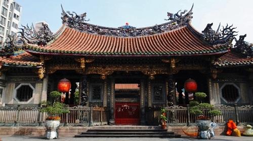 台湾の龍山寺