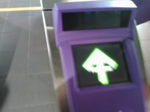 MRT高鐵桃園駅の改札口の入り口